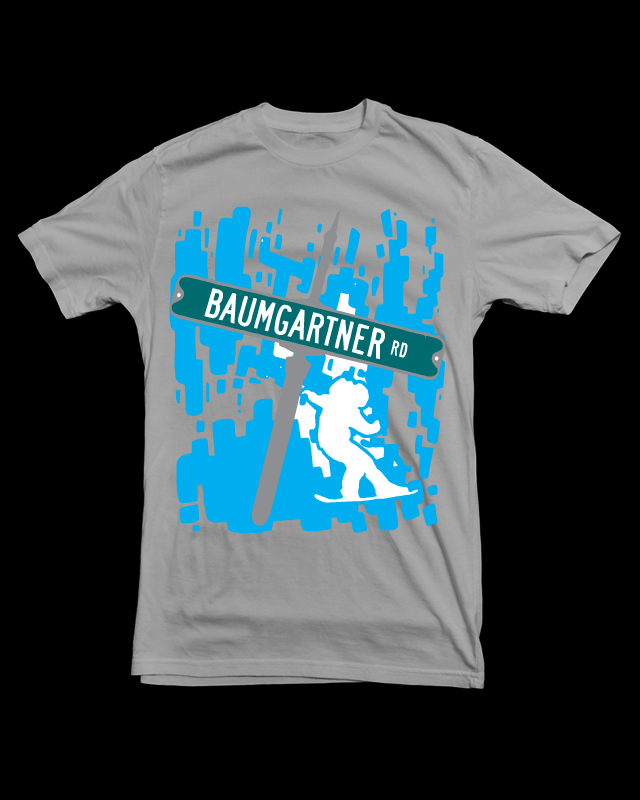 baumgartner road t-shirt